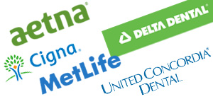 Insurances accepted, CIGNA, United Concordia, MetLife